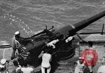 Image of gun crew Atlantic Ocean, 1923, second 1 stock footage video 65675049292