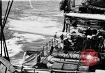 Image of gun crew aiming Atlantic Ocean, 1923, second 1 stock footage video 65675049293
