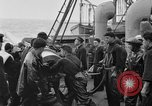 Image of artillery loading Atlantic Ocean, 1923, second 2 stock footage video 65675049294