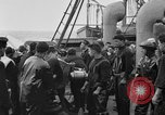 Image of artillery loading Atlantic Ocean, 1923, second 4 stock footage video 65675049294