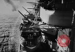 Image of Nazi German battleship World War 2 Atlantic Ocean, 1943, second 7 stock footage video 65675049302