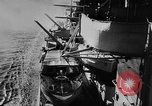 Image of Nazi German battleship World War 2 Atlantic Ocean, 1943, second 8 stock footage video 65675049302