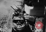 Image of Nazi German battleship World War 2 Atlantic Ocean, 1943, second 9 stock footage video 65675049302