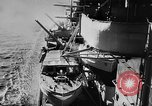 Image of Nazi German battleship World War 2 Atlantic Ocean, 1943, second 10 stock footage video 65675049302