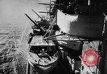 Image of Nazi German battleship World War 2 Atlantic Ocean, 1943, second 11 stock footage video 65675049302