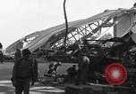 Image of sea plane hangar Cherbourg Normandy France, 1944, second 1 stock footage video 65675049314