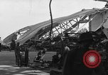 Image of sea plane hangar Cherbourg Normandy France, 1944, second 4 stock footage video 65675049314