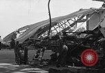 Image of sea plane hangar Cherbourg Normandy France, 1944, second 5 stock footage video 65675049314