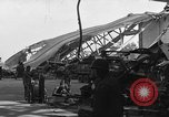 Image of sea plane hangar Cherbourg Normandy France, 1944, second 6 stock footage video 65675049314