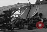 Image of sea plane hangar Cherbourg Normandy France, 1944, second 8 stock footage video 65675049314