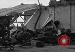 Image of sea plane hangar Cherbourg Normandy France, 1944, second 9 stock footage video 65675049314
