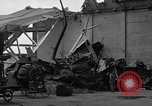 Image of sea plane hangar Cherbourg Normandy France, 1944, second 10 stock footage video 65675049314
