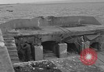 Image of seawall Cherbourg Normandy France, 1944, second 14 stock footage video 65675049315