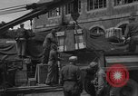 Image of wooden crates Cherbourg Normandy France, 1944, second 5 stock footage video 65675049320