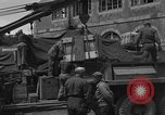 Image of wooden crates Cherbourg Normandy France, 1944, second 6 stock footage video 65675049320