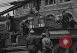 Image of wooden crates Cherbourg Normandy France, 1944, second 7 stock footage video 65675049320
