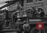 Image of wooden crates Cherbourg Normandy France, 1944, second 8 stock footage video 65675049320