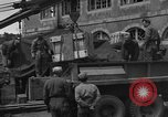 Image of wooden crates Cherbourg Normandy France, 1944, second 11 stock footage video 65675049320