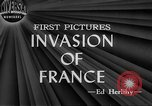 Image of Allied aircraft and paratroopers invade France European Theater, 1944, second 1 stock footage video 65675049349