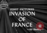 Image of Allied aircraft and paratroopers invade France European Theater, 1944, second 4 stock footage video 65675049349