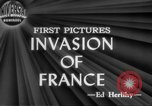 Image of Allied aircraft and paratroopers invade France European Theater, 1944, second 5 stock footage video 65675049349