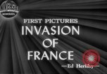 Image of Allied aircraft and paratroopers invade France European Theater, 1944, second 6 stock footage video 65675049349