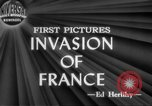 Image of Allied aircraft and paratroopers invade France European Theater, 1944, second 7 stock footage video 65675049349