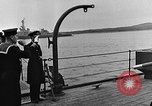 Image of Winston Churchill Ship Harbour Newfoundland, 1941, second 8 stock footage video 65675049354
