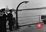 Image of Winston Churchill Ship Harbour Newfoundland, 1941, second 9 stock footage video 65675049354