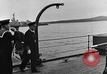 Image of Winston Churchill Ship Harbour Newfoundland, 1941, second 10 stock footage video 65675049354