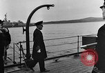 Image of Winston Churchill Ship Harbour Newfoundland, 1941, second 11 stock footage video 65675049354