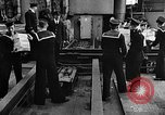 Image of British sailors Ship Harbour Newfoundland, 1941, second 1 stock footage video 65675049358