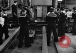Image of British sailors Ship Harbour Newfoundland, 1941, second 2 stock footage video 65675049358