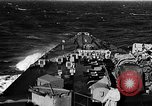 Image of British Battleship Prince of Wales Atlantic Ocean, 1941, second 4 stock footage video 65675049371