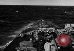 Image of British Battleship Prince of Wales Atlantic Ocean, 1941, second 8 stock footage video 65675049371