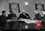 Image of Winston Churchill Atlantic Ocean, 1941, second 1 stock footage video 65675049372