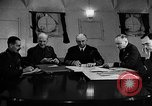 Image of Winston Churchill Atlantic Ocean, 1941, second 4 stock footage video 65675049372