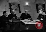 Image of Winston Churchill Atlantic Ocean, 1941, second 9 stock footage video 65675049372
