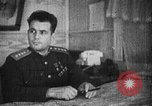 Image of Soviet Army officer at his desk Soviet Union, 1945, second 2 stock footage video 65675049391