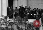 Image of Franklin D Roosevelt Arlington Virginia USA, 1935, second 8 stock footage video 65675049417