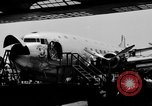 Image of Douglas DC-4 aircraft Santa Monica California USA, 1938, second 9 stock footage video 65675049424