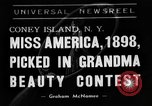 Image of beauty contest Coney Island New York USA, 1938, second 1 stock footage video 65675049428