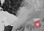 Image of skiing Mineral California USA, 1938, second 10 stock footage video 65675049430