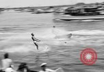 Image of aquaplanes Hermosa Beach California USA, 1938, second 10 stock footage video 65675049434
