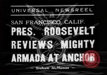 Image of Roosevelt San Francisco California USA, 1938, second 3 stock footage video 65675049436
