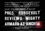 Image of Roosevelt San Francisco California USA, 1938, second 4 stock footage video 65675049436