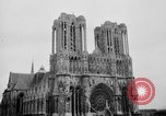 Image of Notre Dame de Reims Rheims France, 1938, second 8 stock footage video 65675049443