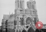 Image of Notre Dame de Reims Rheims France, 1938, second 9 stock footage video 65675049443