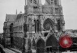 Image of Notre Dame de Reims Rheims France, 1938, second 10 stock footage video 65675049443