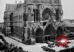 Image of Notre Dame de Reims Rheims France, 1938, second 11 stock footage video 65675049443